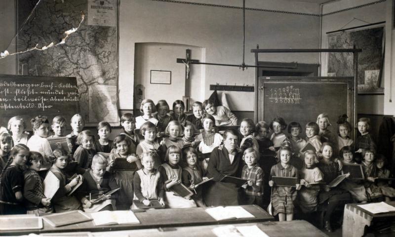 Burgschule Klassenzimmer