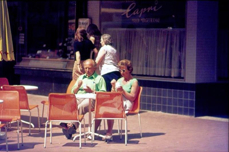 Eiscafe Capri Theaterplatz 1972
