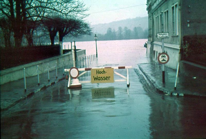 Hochwasser Dreesen