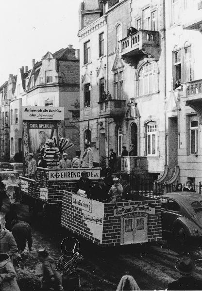 Karnevalszug Max-Franz-Str.1963