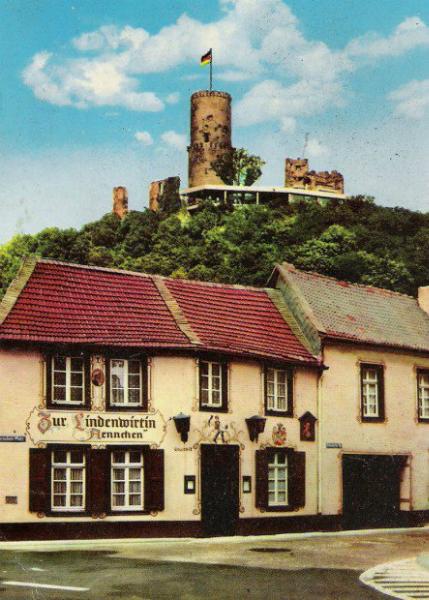 Altes Ännchen mit Burg