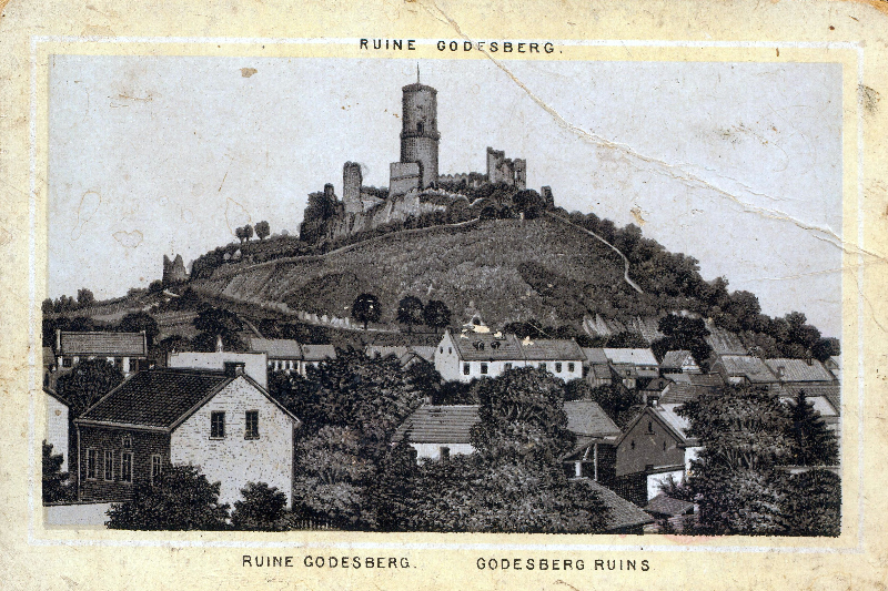 Postkarte Godesberg