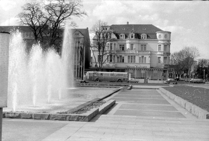 Kaiserhof mit Springbrunnen