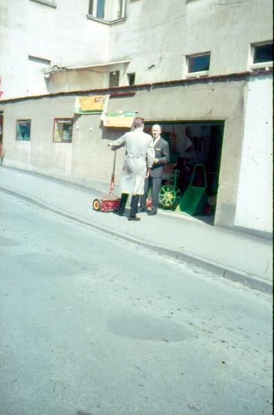 Rasenmäher-Verkauf