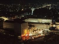 Nachtaufnahme Innenstadt von der Burg