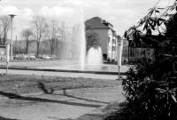 Brunnen mit Pavillon