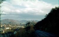 Godesburg und Petersberg vom Promenadenweg